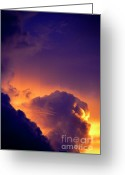 Glory Greeting Cards - Parousia Greeting Card by Thomas R Fletcher