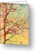 Klimt Greeting Cards - Parsi-Parla - d16c02 Greeting Card by Variance Collections