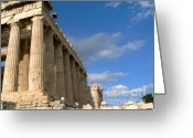 Parthenon Greeting Cards - Parthenon Greeting Card by David Bearden