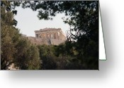 Parthenon Greeting Cards - Parthenon Greeting Card by Terence Davis