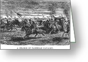 Barbarian Greeting Cards - Parthian Cavalry Greeting Card by Granger