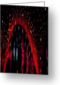 Christopher Holmes Greeting Cards - Particulated Arch Greeting Card by Christopher Holmes
