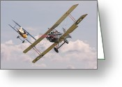 Raf Greeting Cards - Passage of Arms Greeting Card by Pat Speirs