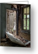 Recession Greeting Cards - Passageways. Greeting Card by JC Findley