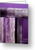 Purples Greeting Cards - Passion Stages Greeting Card by Marsha Heiken