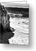 The Rocks Greeting Cards - Past the Rocks Greeting Card by John Rizzuto