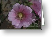 Flower Blossom Greeting Cards - Pastel Flower Greeting Card by David Lee Thompson