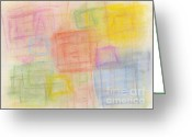 Bright Pastels Greeting Cards - Pastel Oct 2012 Greeting Card by Igor Kislev