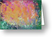 Designers Choice Painting Greeting Cards - Pastel Painting Greeting Card by Don  Wright