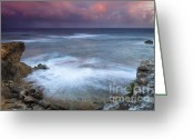 Pink Pastel Greeting Cards - Pastel Storm Greeting Card by Mike  Dawson