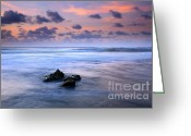 Tunnels Greeting Cards - Pastel Tides Greeting Card by Mike  Dawson