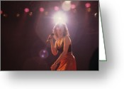 Pat Greeting Cards - Pat Benatar Greeting Card by Rich Fuscia
