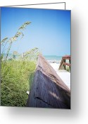 Oats Greeting Cards - Path to Relaxation Vanilla Pop Greeting Card by Chris Andruskiewicz