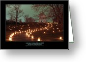 Antietam Greeting Cards - Path to the MD Monument 07 Greeting Card by Judi Quelland