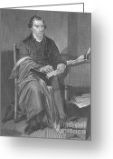 Personality Greeting Cards - Patrick Henry, American Patriot Greeting Card by Science Source