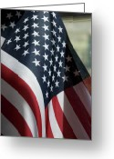 4th Of July Photo Greeting Cards - Patriotism Greeting Card by Jerry McElroy