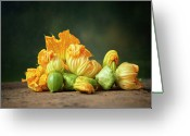 Devon Greeting Cards - Patty Pans Greeting Card by Jojo1 Photography