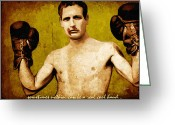 Movie Legend Greeting Cards - Paul Newman Cool Hand Luke  Greeting Card by Dancin Artworks