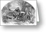 Paul Revere Greeting Cards - Paul Revere, 1775 Greeting Card by Granger