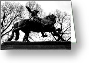 Paul Revere Greeting Cards - Paul Revere Greeting Card by Joann Vitali