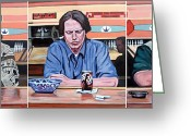 Bar  Greeting Cards - Pause for Reflection Greeting Card by Tom Roderick