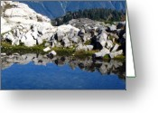 Seattle Framed Prints Greeting Cards - Payoff Greeting Card by Louie Rochon