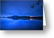 Water Scenes Greeting Cards - Peace Of Brant Greeting Card by Emily Stauring