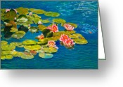 Goldfish Greeting Cards - Peaceful Belonging Greeting Card by Michael Durst