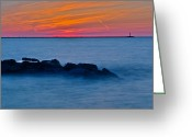Utopia Greeting Cards - Peaceful Bliss Greeting Card by Robert Harmon