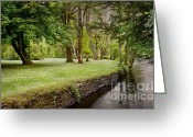 Co Galway Greeting Cards - Peaceful Ireland Landscape Greeting Card by Cheryl Davis