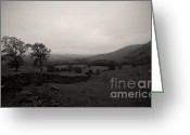 English Countryside Print Greeting Cards - Peak District National Park Greeting Card by Darren Burroughs