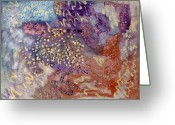 Loose Panicles Greeting Cards - Pearl Essence Greeting Card by Don  Wright