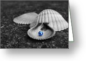 Pearls Greeting Cards - Pearls of Wisdom II Greeting Card by Jai Johnson