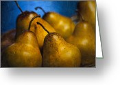 Indoor Greeting Cards - Pears Waiting Greeting Card by Scott Norris