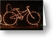 Bicycle Greeting Cards - Pedal Power #photooftheday #clubsocial Greeting Card by A Rey