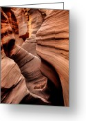 Grand Gulch Greeting Cards - Peek a Boo Greeting Card by Chad Dutson