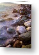 Pelion Greeting Cards - Pelion Beach Greeting Card by Neil Buchan-Grant