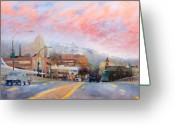 Berks County Greeting Cards - Penn Street Bridge Greeting Card by Rich Houck