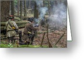 Rangers Greeting Cards - Pennsylvania Hunter Greeting Card by Randy Steele