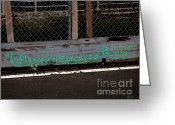 Nyc Graffiti Greeting Cards - People Are People Greeting Card by Jeff Breiman