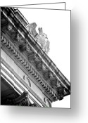 Neo-classical Greeting Cards - Perch BW Greeting Card by Slade Roberts