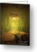 Ball Jar Greeting Cards - Perfect Mason Greeting Card by C E Dyer