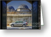Minaret Greeting Cards - Perfect Placement Greeting Card by Joan Carroll