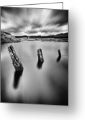 Stunning Greeting Cards - Perfectly Still Greeting Card by John Farnan