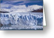 Rudi Prott Greeting Cards - Perito Moreno Glacier Argentina Greeting Card by Rudi Prott