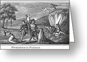 Heretic Greeting Cards - Persecution Of Waldenses Greeting Card by Granger