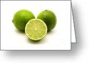 Persian Greeting Cards - Persian lime Greeting Card by Fabrizio Troiani