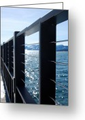 Bridge Greeting Cards - Perspective Greeting Card by Heather S Huston
