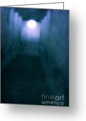Bad Dream Greeting Cards - Phantasm Greeting Card by Andrew Paranavitana