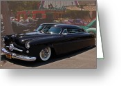 Custom Roadster Greeting Cards - Phantom Greeting Card by Bill Dutting